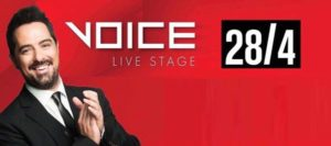 VOICE LIVE STAGE dimakis
