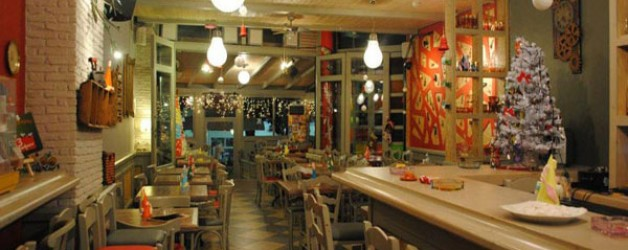 3 λαλούν και 2 χορεύουν Χαϊδάρι Εστιατόριο Αθήνα