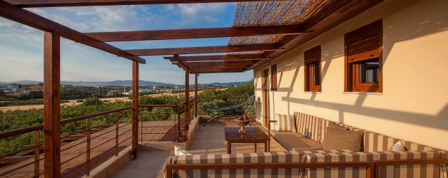 Villa Χαλκιδική με Θέα τη Θάλασσα